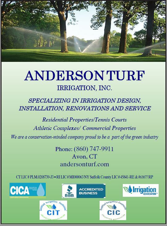 Anderson Turf Irrigation flyer